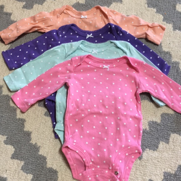 Carter's Other - Baby girl long sleeve onesies
